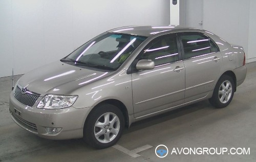 Used 2004 Toyota Corolla for Sale in Japan #13035