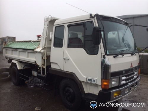 Used 1990 Mitsubishi FUSO DUMP TRUCK for Sale in Japan #13307