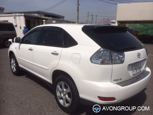 Used 2007 Toyota HARRIER for Sale in Japan #13317