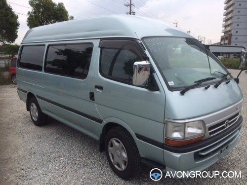 Lastest 1999 Toyota Hiace Commuter Bus High Roof For Sale Japan