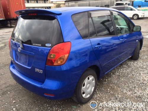 Used 2001 Toyota Spacio for Sale in Japan #13478