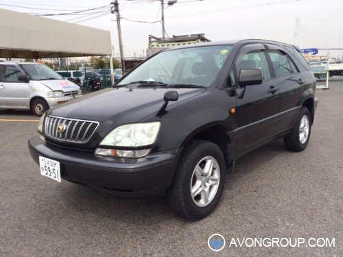 Used 2002 Toyota Harrier for Sale in Tanzania #13510
