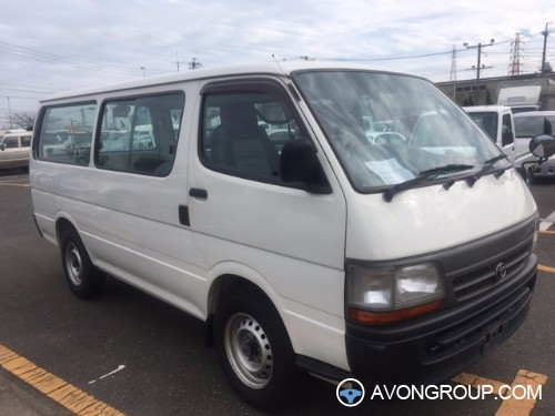 Simple Used Toyota Hiace For Sale In Japan