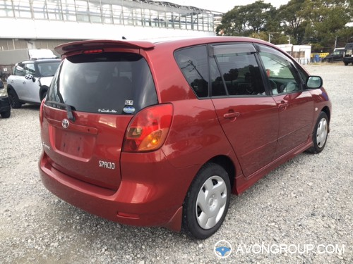 Used 2002 Toyota Spacio for Sale in Japan #13577
