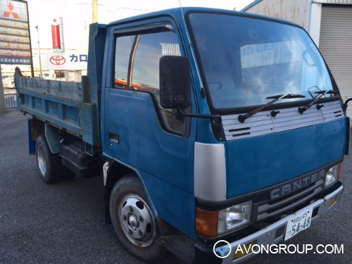 Used 1992 Mitsubishi CANTER DUMP TRUCK for Sale in Japan #13676