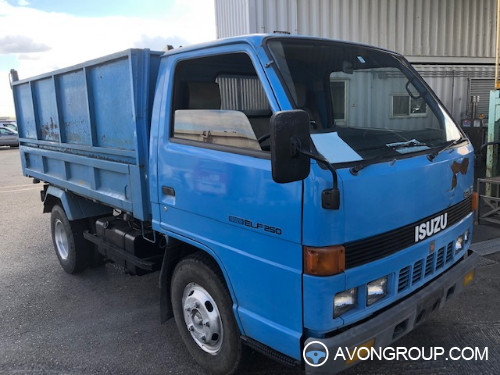 Used 1986 Isuzu ELF DUMP TRUCK for Sale in Japan #13775