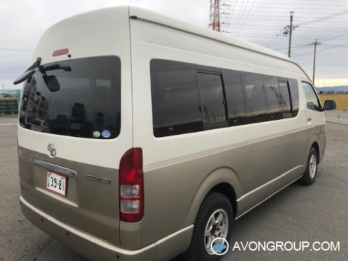 Used 2005 Toyota HIACE COMMUTER for Sale in Japan #13842
