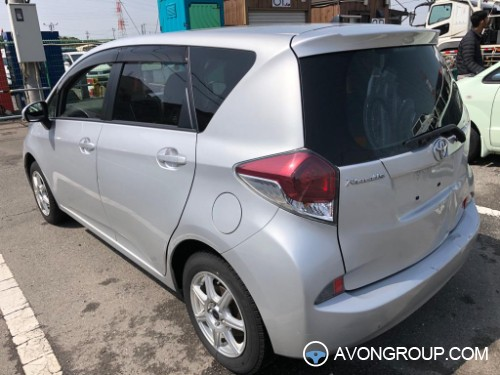 Used 2016 Toyota RACTIS for Sale in Japan #14344